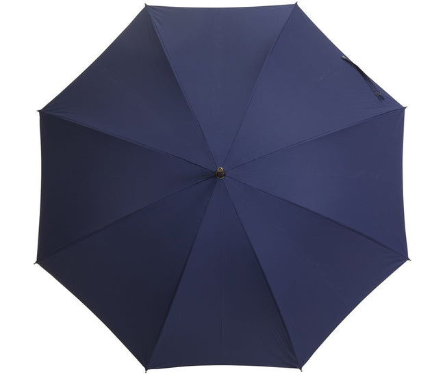 Classic Navy Blue Umbrella | Handmade in England