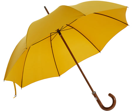 Beechwood core umbrella handmade and rain tested in England (burgundy)
