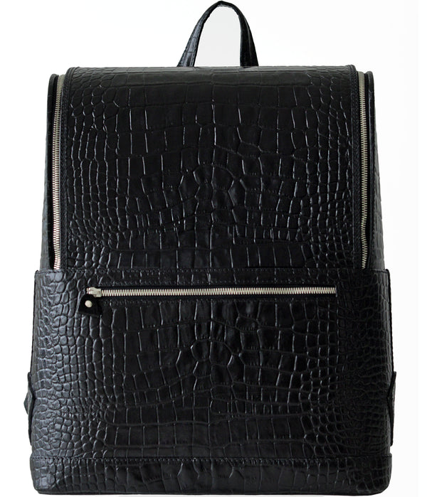 Bucklesbury Fine Italian Leather Backpack