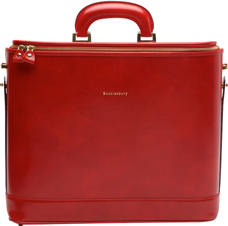 "Caramel Attaché Case for 15"" Laptop"