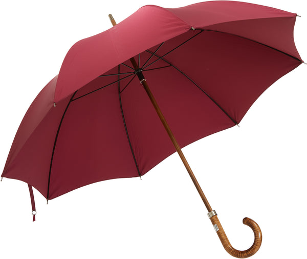Bucklesbury handmade umbrella burgundy
