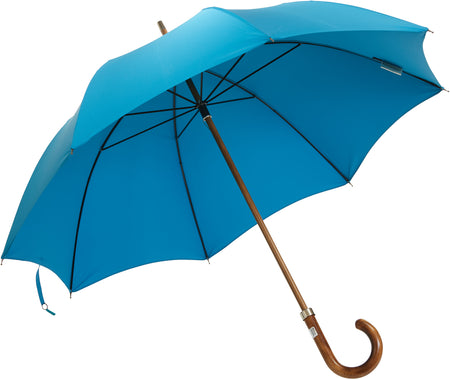 Beechwood core umbrella handmade and rain tested in England (yellow)