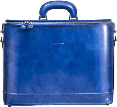 "Emerald Green Attaché Case for 17"" Laptop"