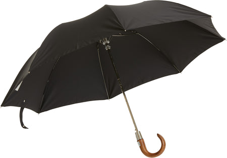 Beechwood core umbrella handmade and rain tested in England (green)