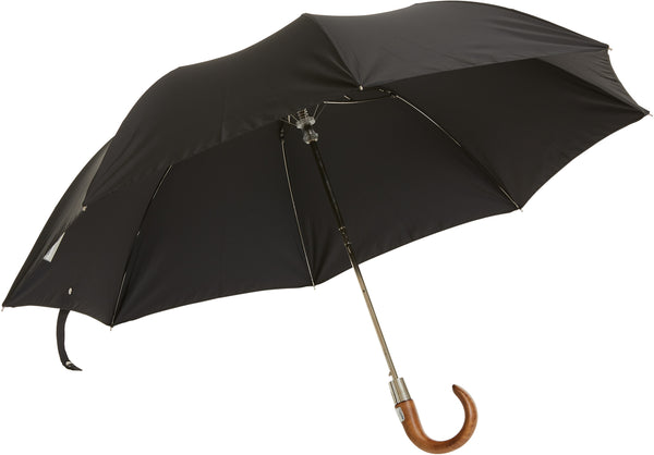 Bucklesbury handmade telescopic umbrella black