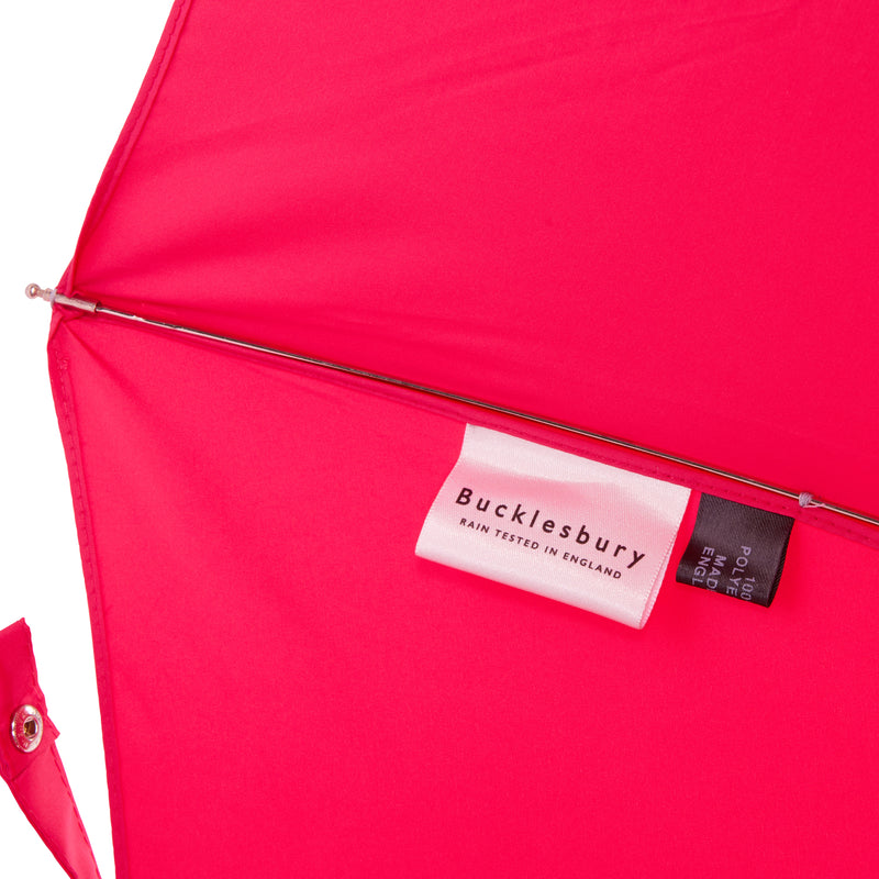 Bucklesbury handmade telescopic umbrella pink