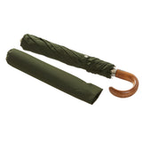 Bucklesbury handmade telescopic umbrella green