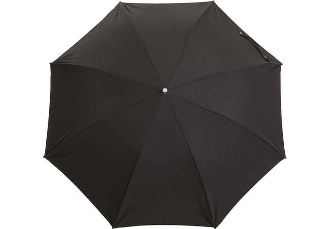 Telescopic Black Umbrella | Handmade in England