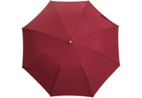 Telescopic Burgundy Umbrella | Handmade in England
