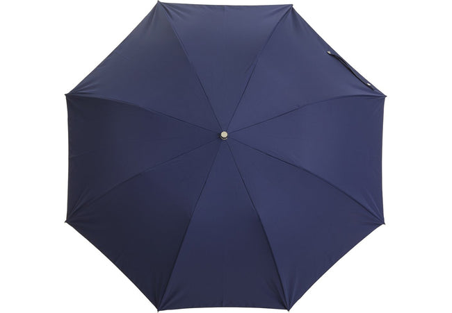 Telescopic Navy Blue Umbrella | Handmade in England