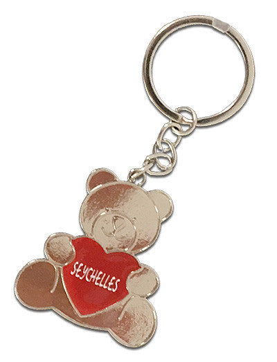 Teddy Metal Keyring