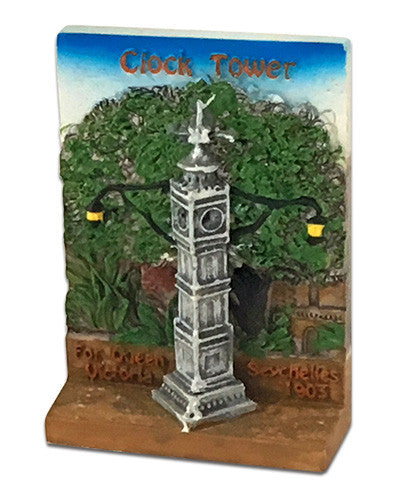 Resin Magnet Clocktower