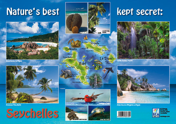 Anse Source d'Argent, La Digue, Placemat