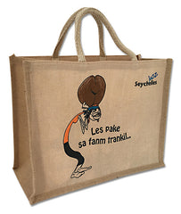 Jazz Bag Jute Mazozefine