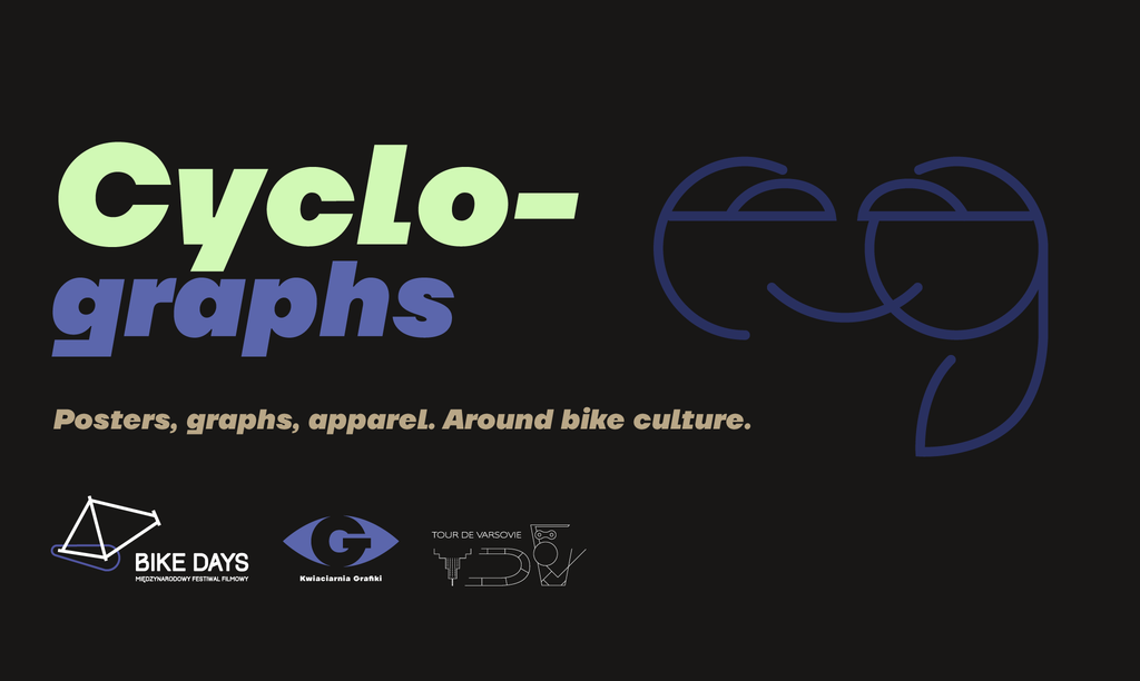 [EN] Cyclographs — posters, graphs, apparel. Around bike culture