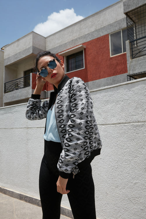 Off-Duty Bomber - BOHO INDIAN