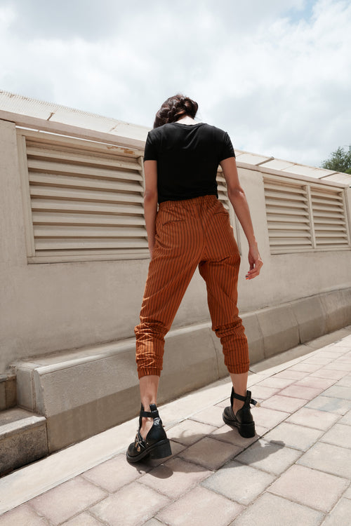 Weekend Edit Pull-Up Pants - BOHO INDIAN