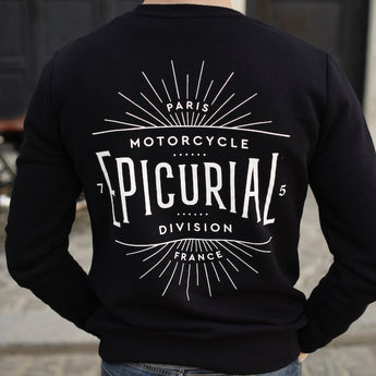Epicurial Sweater - Navy Blue