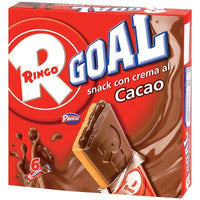 PAVESI RINGO GOAL X 6 PCS GR 168 COCOA - best before 2019.07.03