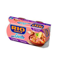 RIO MARE CON GUSTO GR 160 X 2 TUNA AND ONION