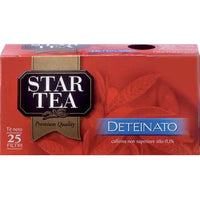 STAR TEA X 25 FILTERS DECAF