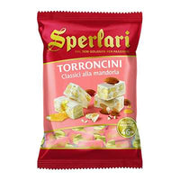SPERLARI TORRONCINI GR 130 CLASSIC WITH ALMONDS IN BAG
