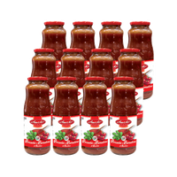 AMATO TOMATOE PUREE PASSATA GR 680 WITH BASIL X 12 (BULK DEAL)