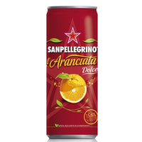 SANPELLEGRINO CL 33 RED SWEET ORANGE IN CAN