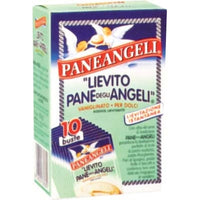 PANEANGELI BAKING POWDER YEAST WITH VANILLA 10 BAGS