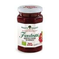 RIGONI BIO ORGANIC JAM GR 250 RED BLUEBERRIES