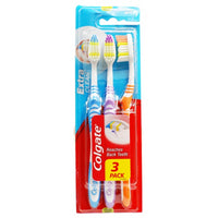 COLGATE TOOTHBRUSH EXTRA CLEAN X 3
