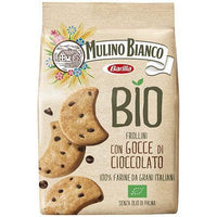MULINO BIANCO COOKIES GR 260 ORGANIC FROLLINI  WITH CHOCOLATE CHIPS