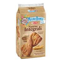 MULINO BIANCO SNACK NASTRINE X 6 WHOLE GRAINS INTEGRALI