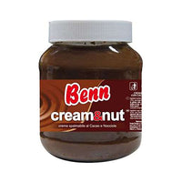 BENN CHOCOLATE CREAM WITH HAZELNUTS GR 400