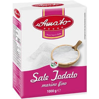 AMATO IODIUM TABLE SALT KG 1 FINE