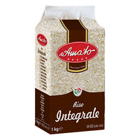 AMATO RICE KG 1 WHOLE WHEAT