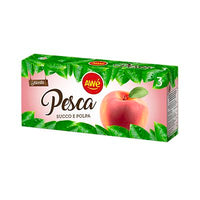 AWE FRUIT JUICE ML 200 X 3 PEACH