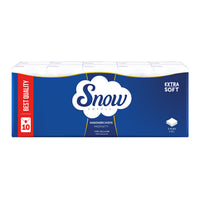 SNOW PAPER TISSUES IN 3 LAY X 10 PACKS
