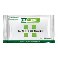 DR KLIMCKE SANITIZING WIPES X 20