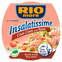 RIO MARE INSALATISSIME GR 160 TUNA AND COUS COUS