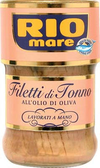 RIO MARE TUNA FILLETS GR 180 IN OLIVE OIL