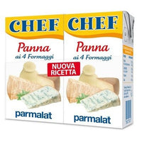 PARMALAT PANNA CHEF ML 125 X 2 CREAM FOUR CHEESES