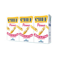 PARMALAT PANNA CHEF ML 125 X 3 CREAM LACTOSE FREE