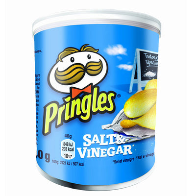 PRINGLES GR 40 SALT AND VINEGAR