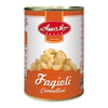 AMATO LEGUMES GR 400 COOKED CANNELLINI BEANS IN TIN BUONI SAPORI QUALITY
