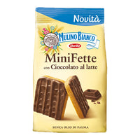 MULINO BIANCO FETTE BISCOTTATE GR 110 MINI FETTE MILK CHOCOLATE