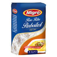 MIGRO RICE GOLD QUALITY KG 1 PARBOILED