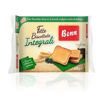 BENN FETTE BISCOTTATE GR 320 INTEGRALI WHOLE WHEAT