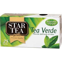STAR TEA X 25 FILTERS GREE TEA