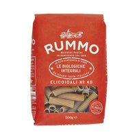 RUMMO PASTA GR 500 WHOLE WHEAT ORGANIC ELICOIDALI N 49